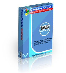 DataMatrix Barcode ActiveX Control