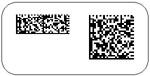 DataMatrix Rectangular symbols