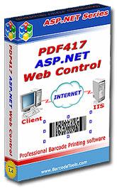 PDF417 ASP.NET Web Control