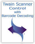 Twain Scanner Control ActiveX with Barcode Decoding