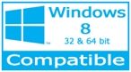 Our barcode software compatible with Windows XP, 7, 8, 10