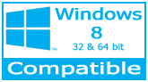 Barcode .NET Control compatible with Windows Vista, XP, 7, 8, 10 32-bit and 64-bit